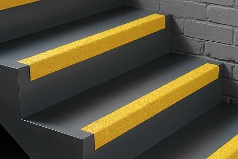 Protišmykové profily na schody