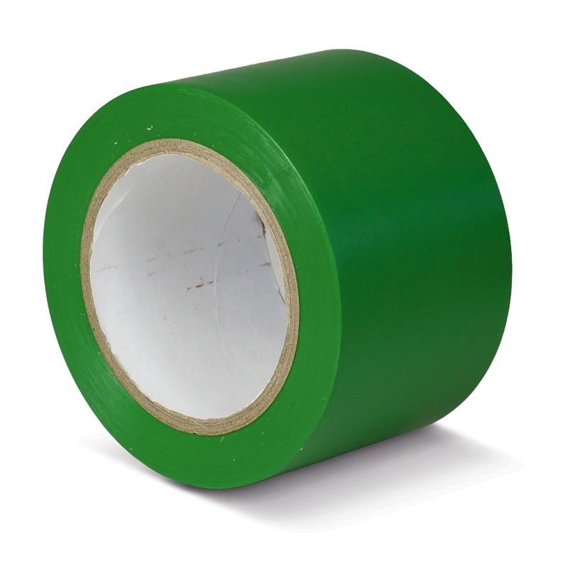Podlahová páska štandard zelená