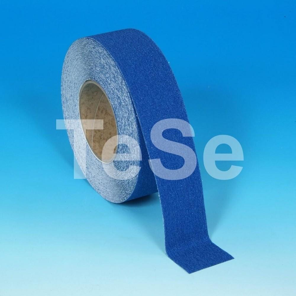Protišmyková páska štandardné zrno modrá