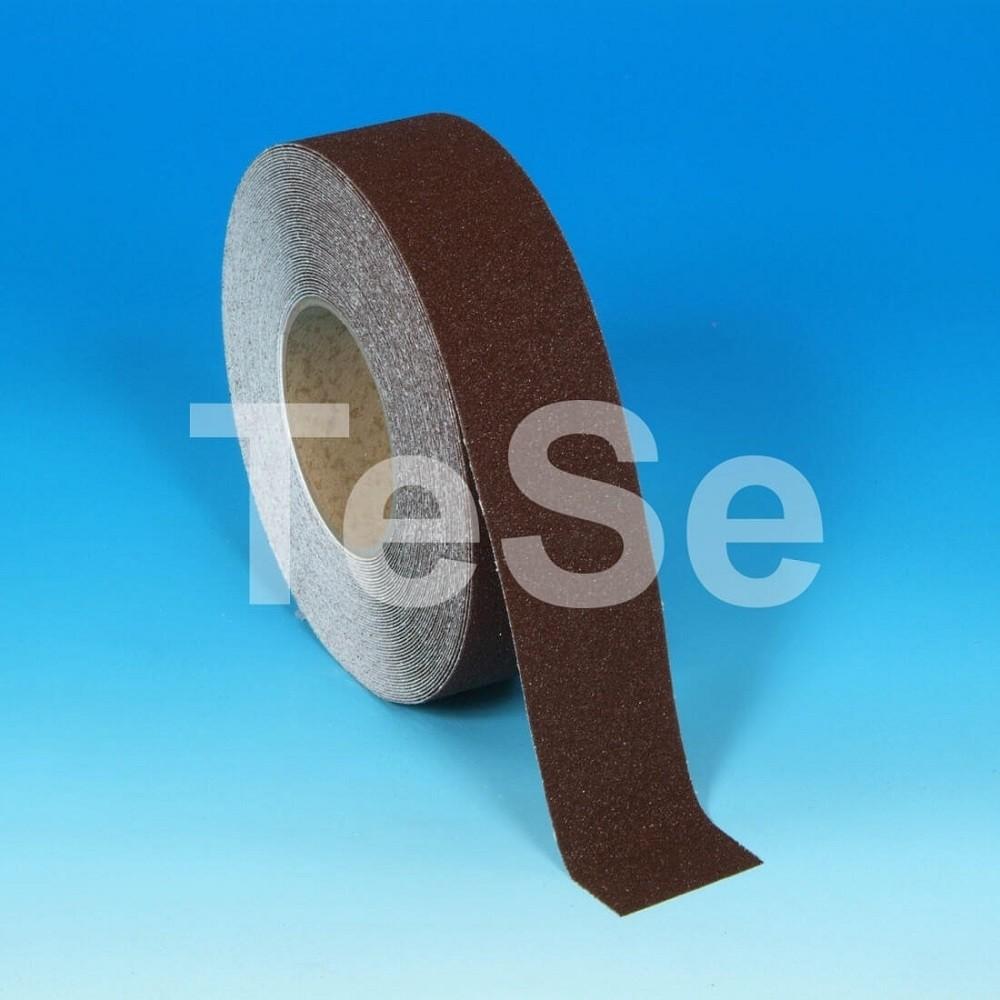 Protišmyková páska štandardné zrno hnedá