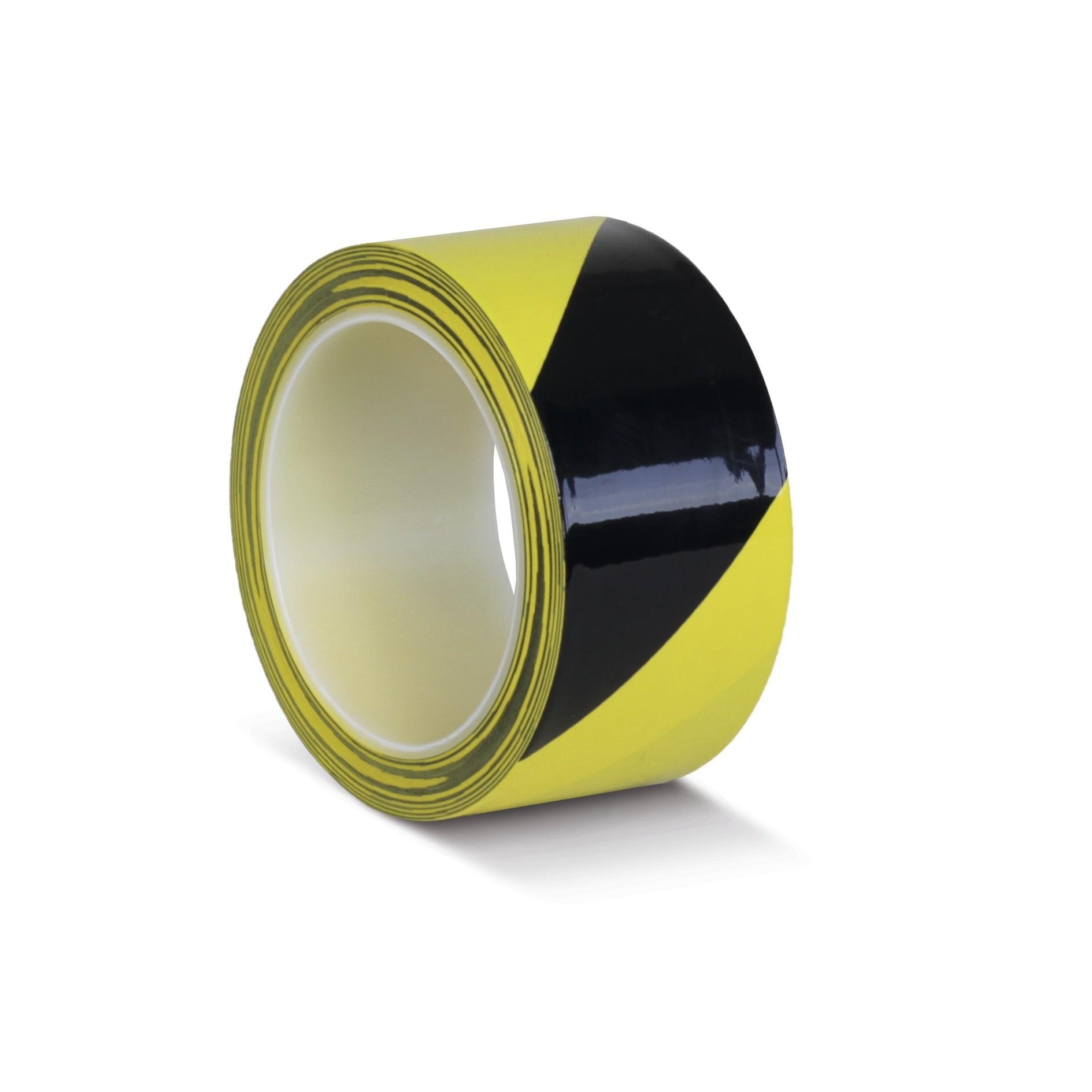 Podlahová páska Heavy Duty laminovaná výstražná žlto / čierna