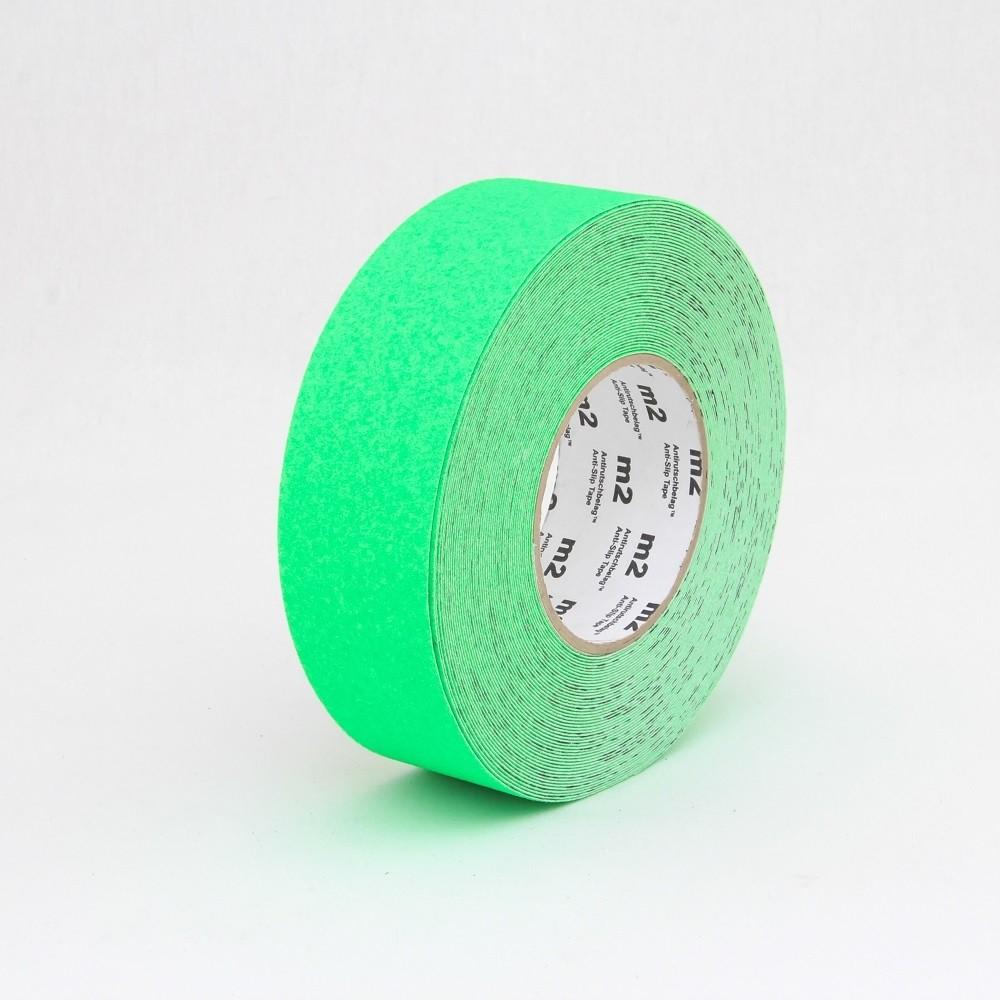 Fluorescenčná protišmyková páska zelená