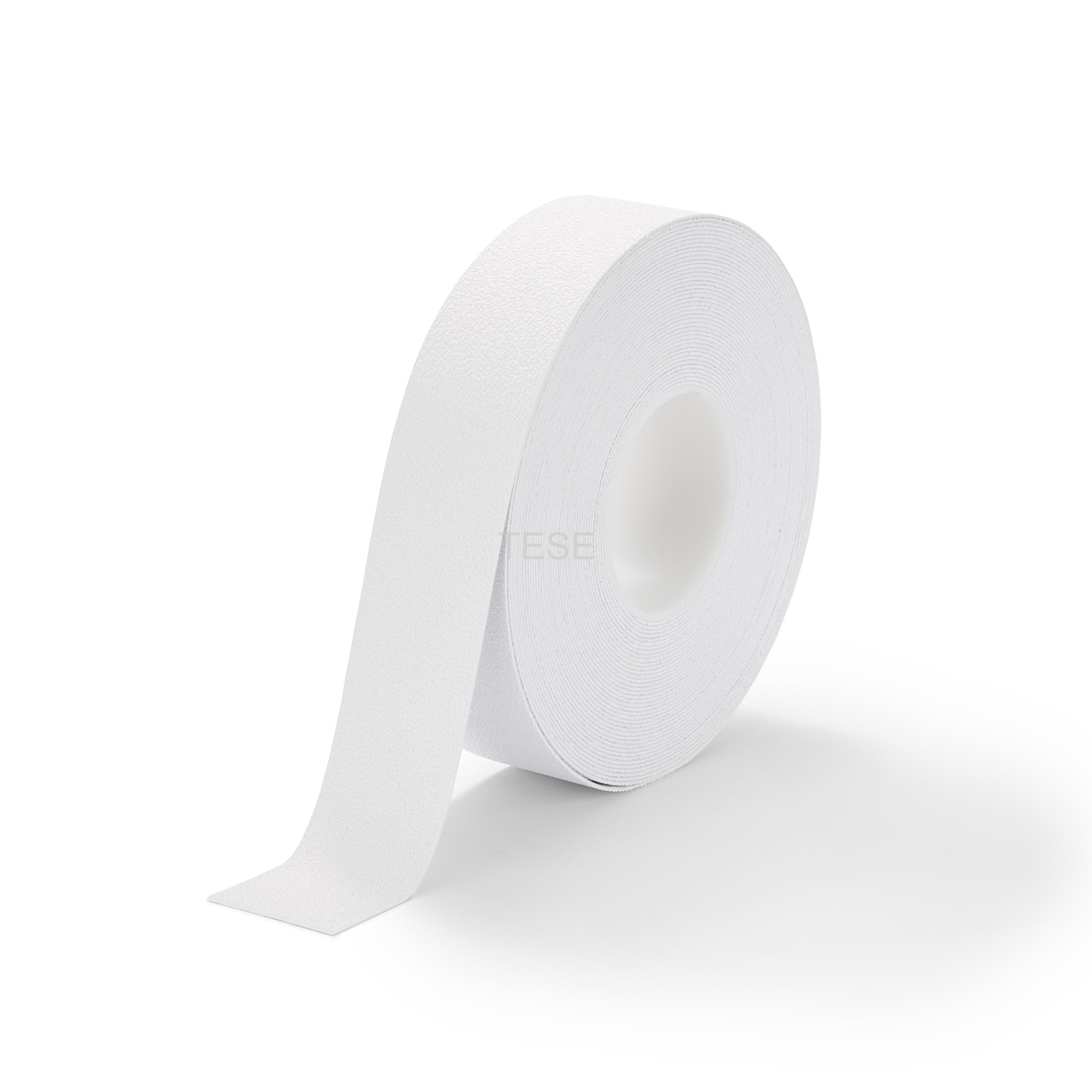 Pružná protišmyková páska neabrazívna biela