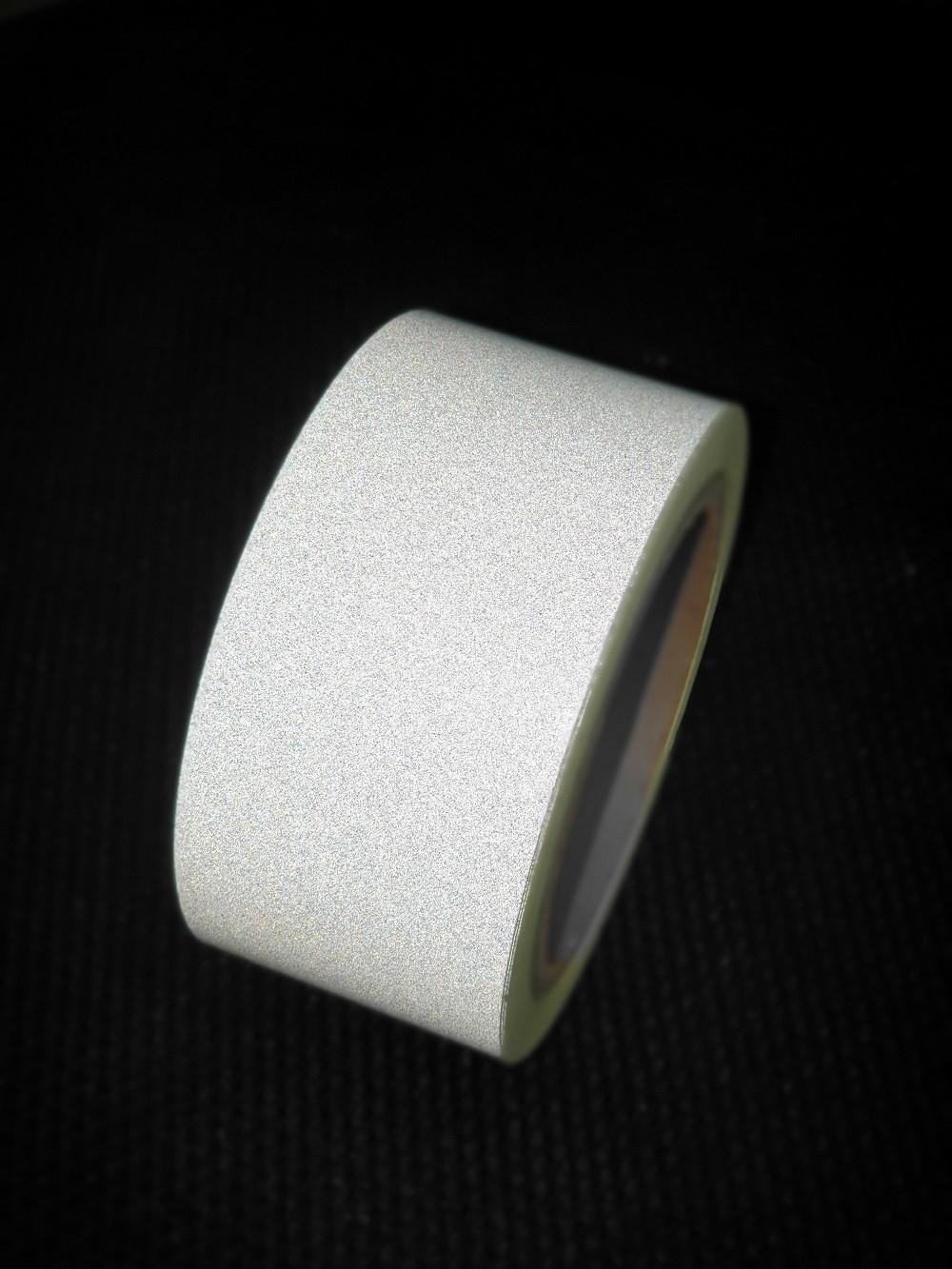 Reflexná páska samolepiaca biela TeSe