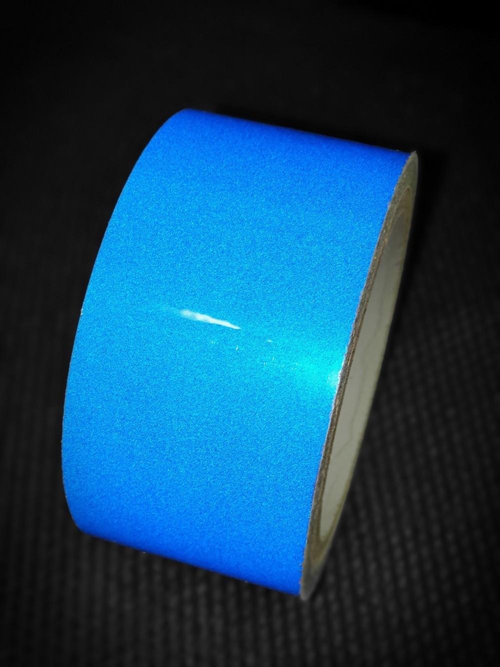 Reflexná páska samolepiaca modrá TeSe