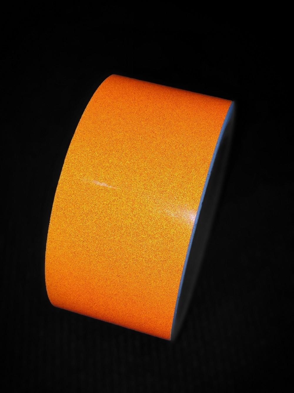 Reflexná páska samolepiaca oranžová TeSe