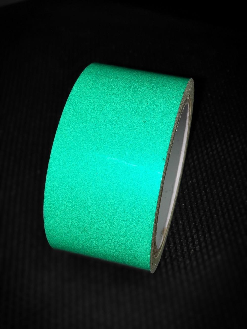 Reflexná páska samolepiaca zelená TeSe
