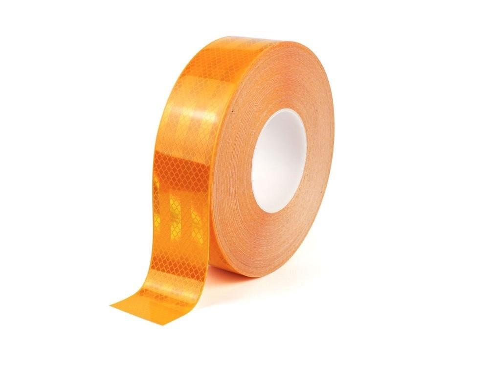 Reflexná páska žltá pre označovanie vozidiel I TeSe