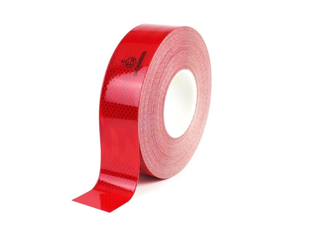 Červená reflexná páska pre označovanie nákladných aut I TeSe