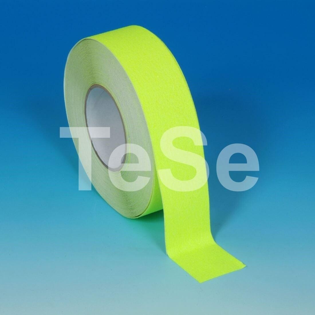 Protišmyková páska štandardné zrno fluorescenčná