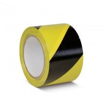 Podlahová páska štandard výstražná žlto / čierna