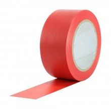 Podlahová páska štandard červená