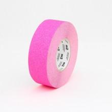 Protišmyková páska štandardné zrno fluorescenčná ružová