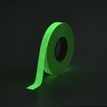 Protišmyková páska štandardné zrno svietiaca v tme