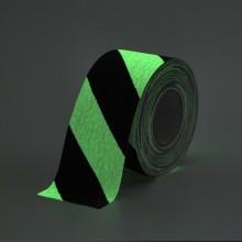Protišmyková páska štandardné zrno výstražná svietiaca v tme